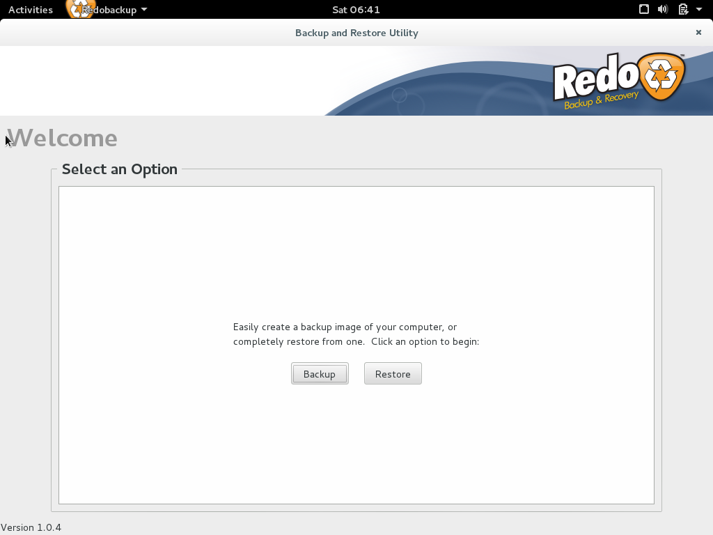 Build and update a redoBackup ISO
